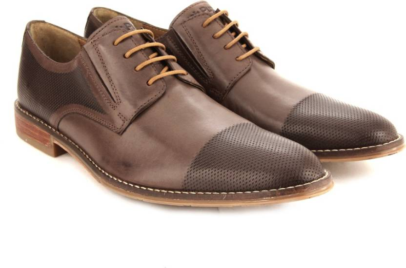 c62fb989520f91 Hush Puppies By Bata OTIS STYLE Lace Up Shoes For Men - Buy Brown ...