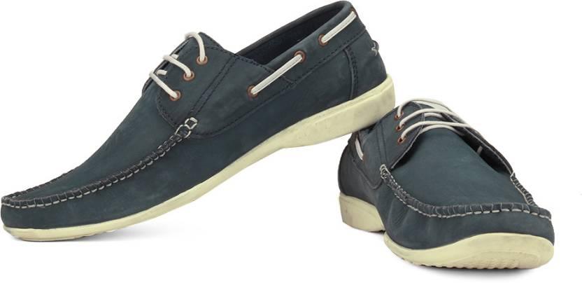 6fed2df9ad Lee Cooper Men Boat Shoes For Men - Buy Blue Color Lee Cooper Men ...