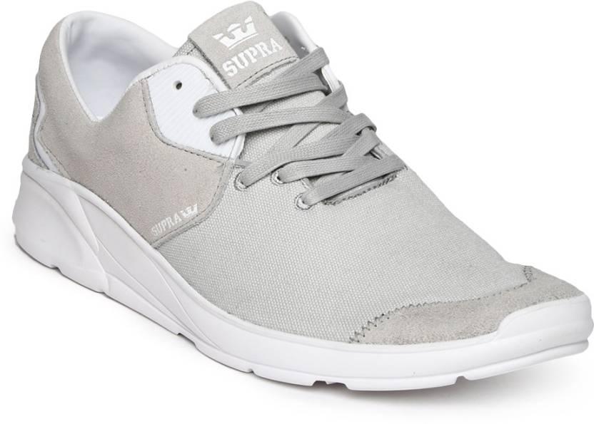 df512485e3 Supra Casual Shoes For Men - Buy Grey Color Supra Casual Shoes For ...