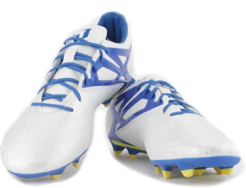 ADIDAS MESSI 15.1 FG AG Men Football Studs For Men - Buy White 815df0f0d