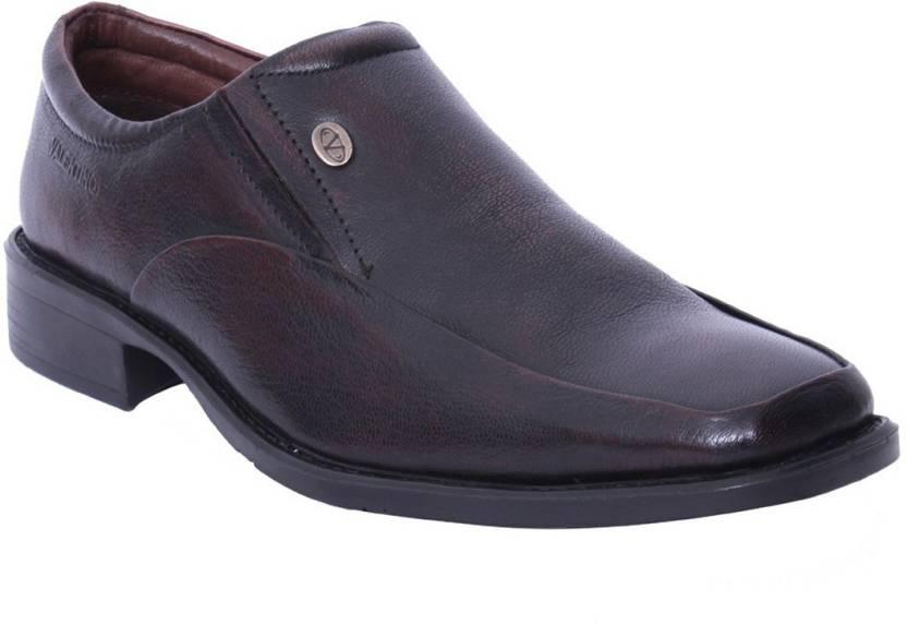 d8ea8ca697b02 Valentino Tclark Slip On Shoes For Men - Buy Brown Color Valentino ...