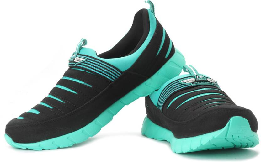 los angeles dec5e 791ed Force 10 By Liberty Lumia-M Running Shoes For Men (Green, Black)