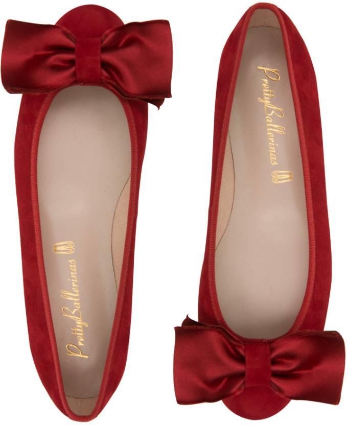 am modischsten Räumungspreise 60% günstig Pretty Ballerinas Suedeith Bow Women Bellies For Women - Buy ...