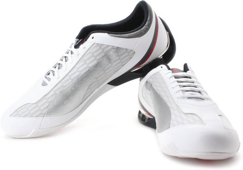 Puma Power Race BMW Motorsports Sneakers For Men - Buy White 1c2d4e568