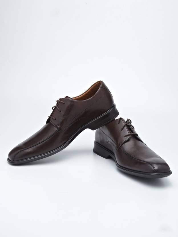 7daff5c232bd Clarks Goya Band Formal Lace Up Shoes For Men - Buy Brown Color ...