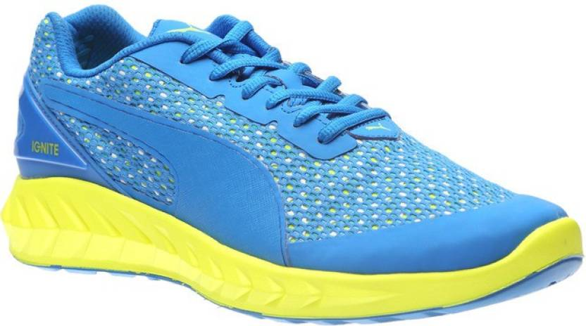 Puma IGNITE Ultimate Layered Running Shoes For Men - Buy Electric ... 8c07e87dc