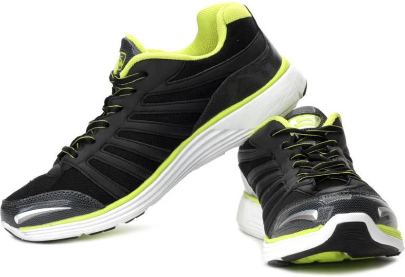 4c5a6078b8 Slazenger Spencer Running Shoes For Men - Buy Black, Lime Green ...