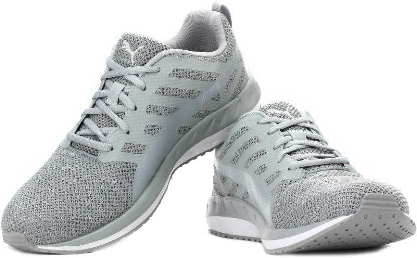 bd4ecaddba6 Puma Flare Metal Running Shoes For Men - Buy Quarry-Puma White Color ...