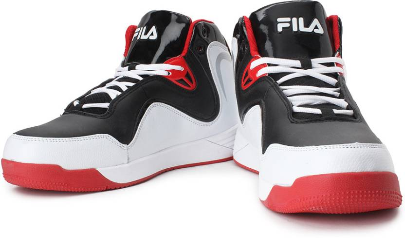 31291792738 Men Basketball Shoes For Red Buy Fila White Rock Black Game RSqwAWX4 ...