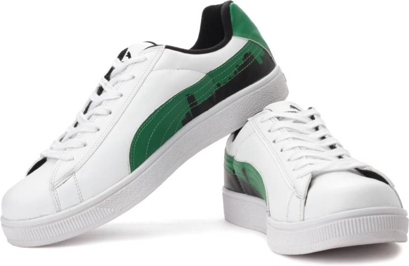 5e23abcf7809 Puma BASKET CITY Ind. Sneakers For Men - Buy White