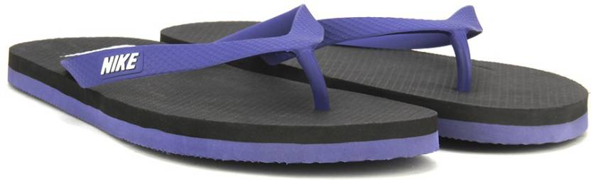 89db0bb168e18 Nike AQUASWIFT THONG Slippers - Buy DK PURPLE DUST WHITE-BLACK Color ...