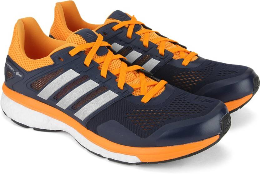 ADIDAS SUPERNOVA GLIDE 8 M Men Running Shoes For Men - Buy CONAVY ... 8d8e9ec80