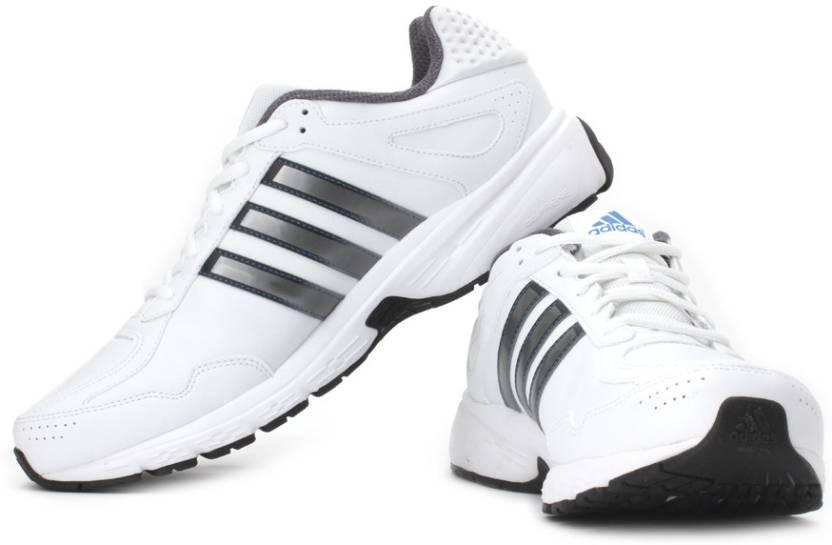 ce0c04bff0ea ADIDAS Duramo 5 Lea M Running Shoes For Men - Buy White