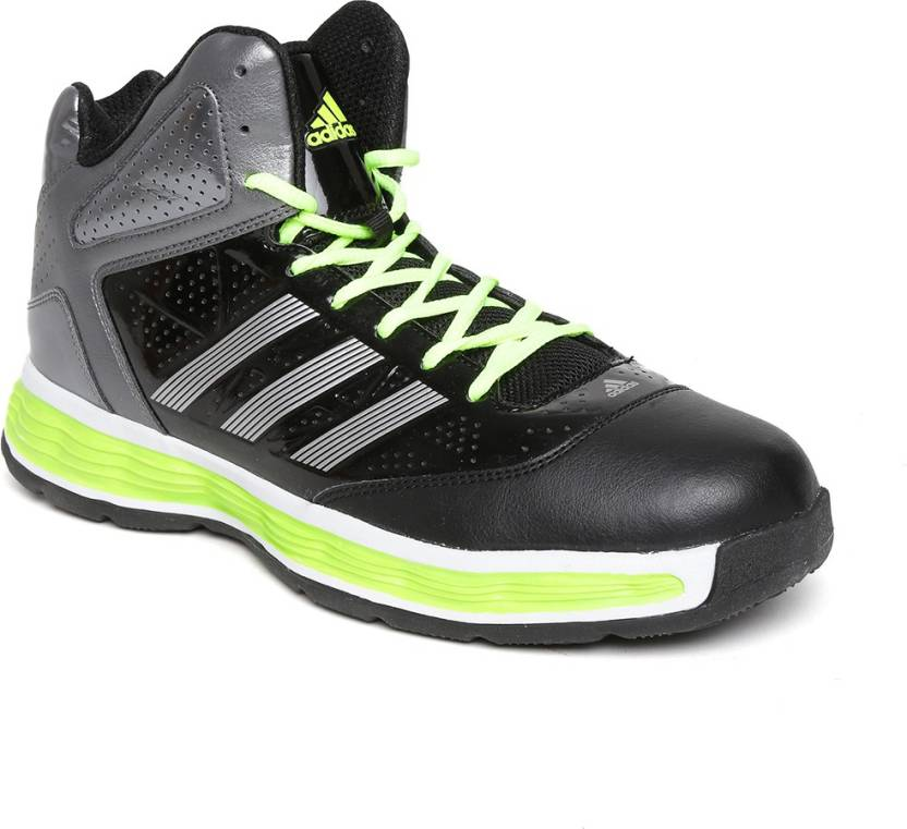 818bb0d568d8 ADIDAS Basketball Shoes For Men - Buy Black Color ADIDAS Basketball ...