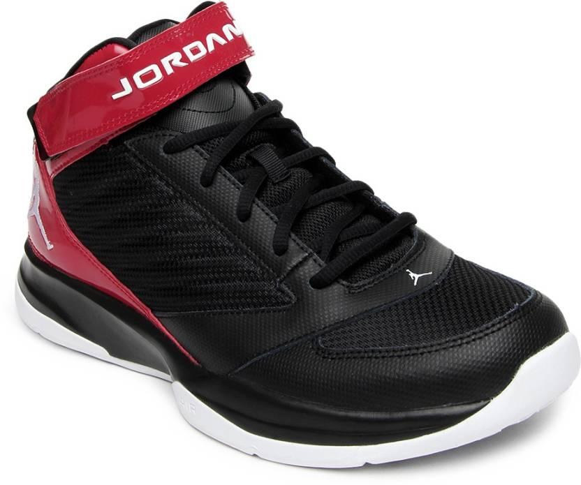 76b3a44769e8 Nike Jordan Bct Mid 3 Basketball Shoes For Men - Buy BLACK WHITE-GYM ...