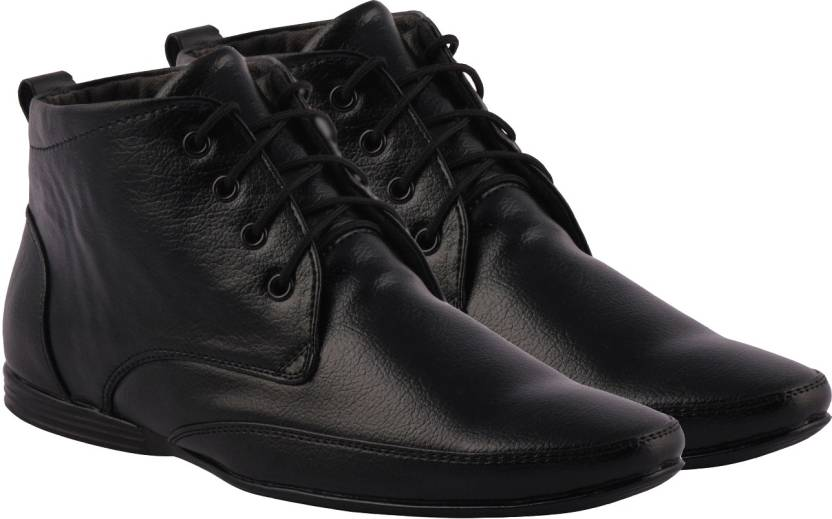 Kraasa High Ankle Lace Up Shoes