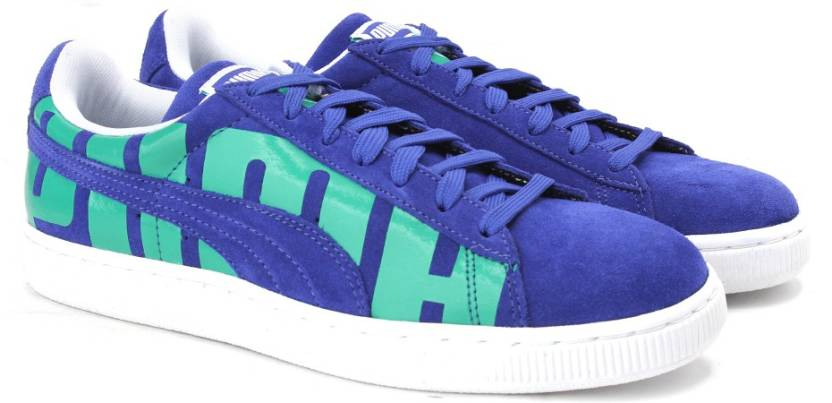Puma Suede Classic + Big Logo Sneakers For Men - Buy surf the web ... 101142b8a