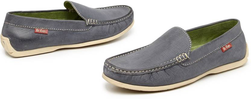 ffa201f63f Lee Cooper Textured Moccasins Men Loafers For Men - Buy Dark Grey ...
