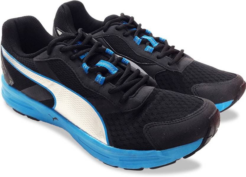 timeless design 180f7 cbe71 Puma Descendant v3 DP Running Shoes For Men (Black)