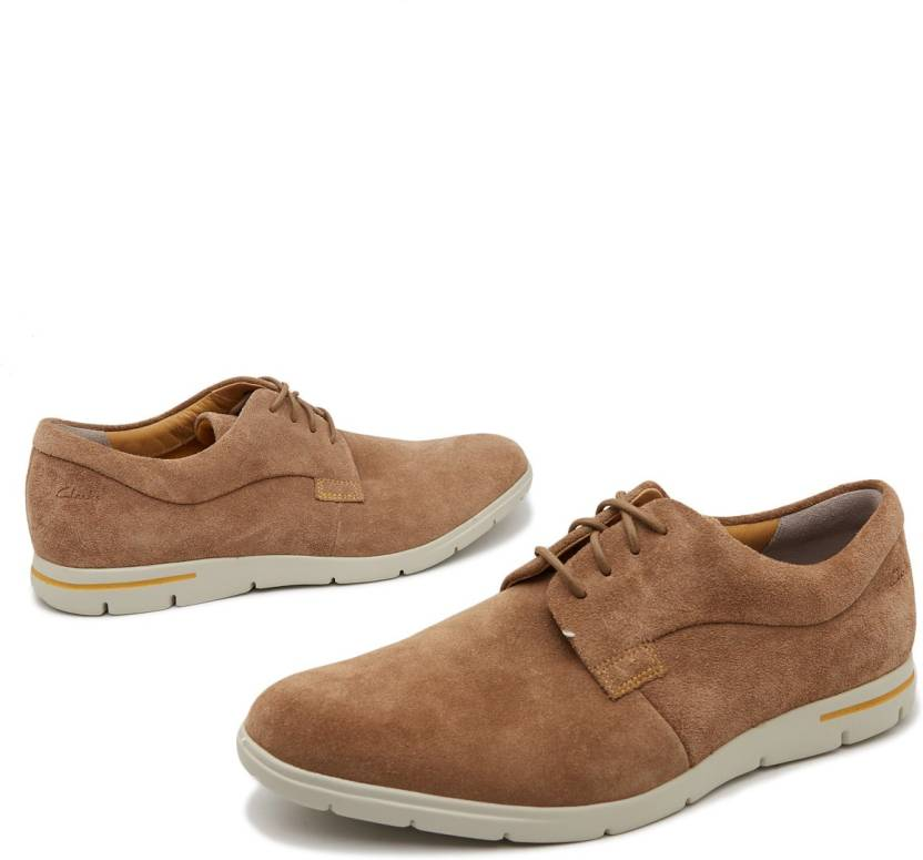 022412a71fdaa Clarks Denner Motion Casual Shoes For Men - Buy Brown Color Clarks ...
