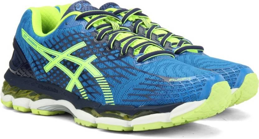 Asics GEL-NIMBUS 17 Running Shoe For Men - Buy ELCTRC BLUE FLH YLW ... ddfed04de90c2
