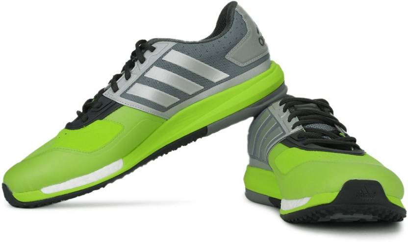 adidas crazytrain promuovere la formazione e le scarpe da ginnastica per gli uomini comprano grey