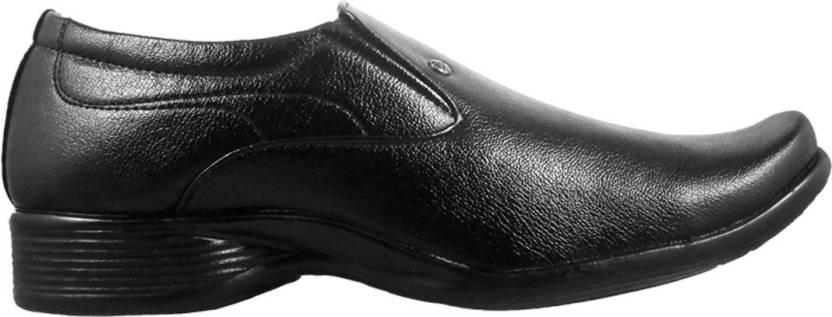Action Fashion Line-2069 Slip On Shoes For Men(Black)