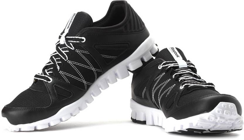83aaa5eb8b1 REEBOK Realflex Train RS Running Shoes For Men - Buy Black