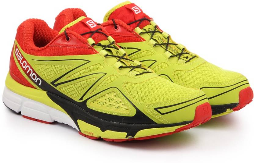 Salomon X-SCREAM 3D GECKO GREE/RD Running Shoes