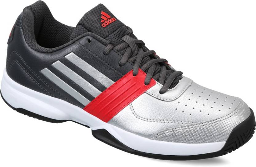 timeless design 2fdce 23907 ADIDAS TORUS II Tennis Shoes For Men (Grey, Silver)