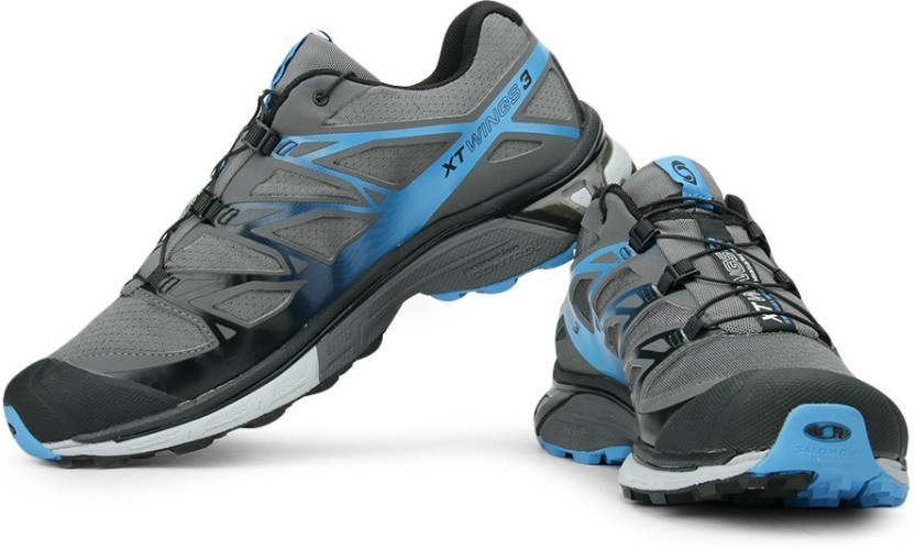 sale retailer f5fa7 b5b7e Salomon XT Wings 3 Trail Running Shoes For Men (Grey)