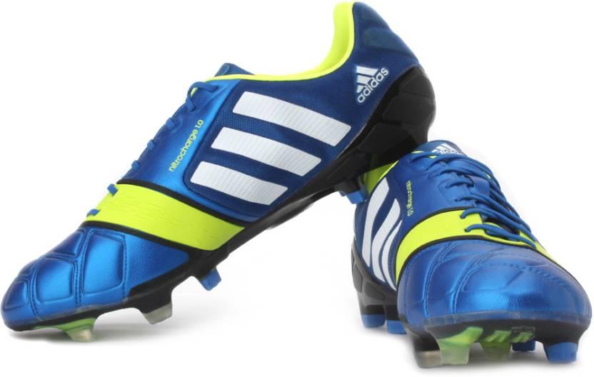 dbf596f79 ADIDAS Nitrocharge 1.0 Trx Fg Football Shoes For Men - Buy Blue ...