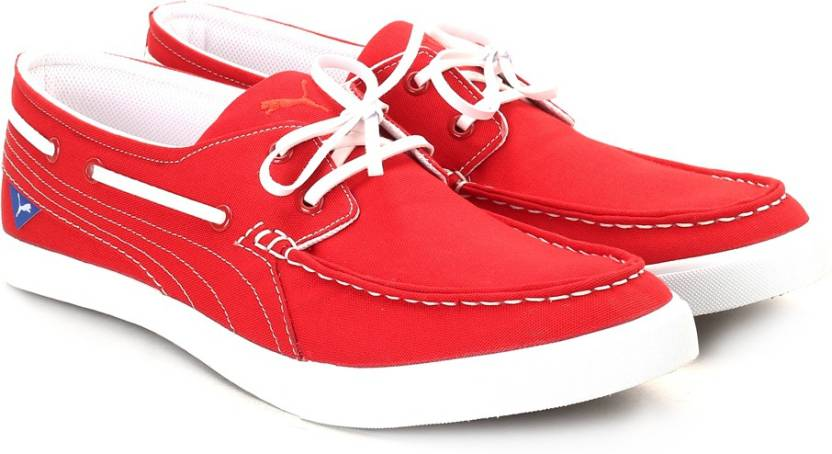 af927777fd7702 Puma Yacht Cvs Men Sneakers For Men - Buy High Risk Red Color Puma ...