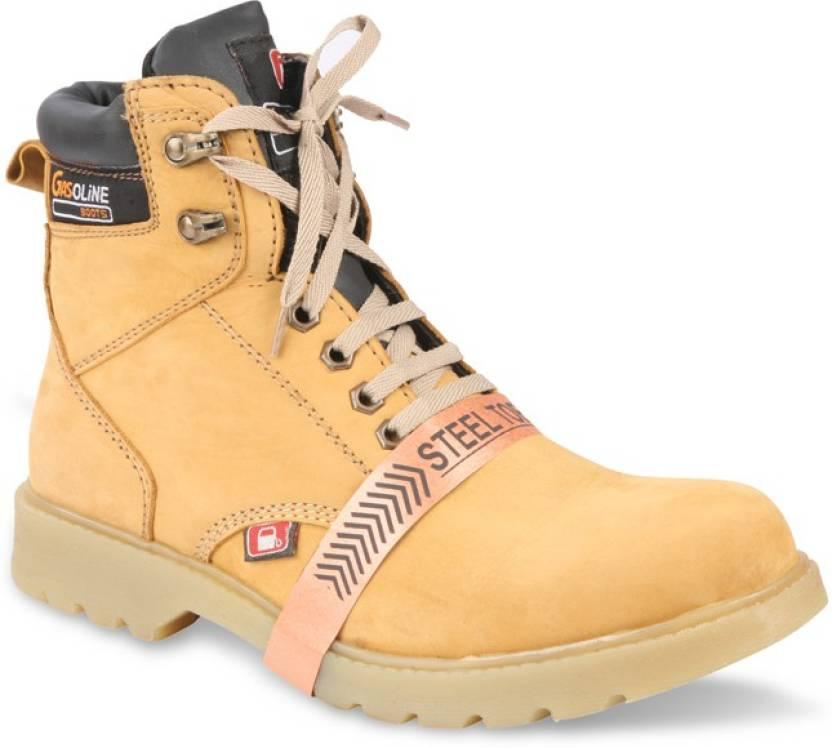 Bacca Bucci Men Tan Genuine Leather Boots dWgz9vd6