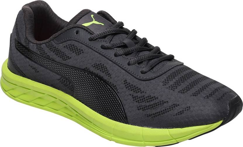 Puma Meteor IDP Running Shoes For Men - Buy Black Color Puma Meteor ... eb1618968
