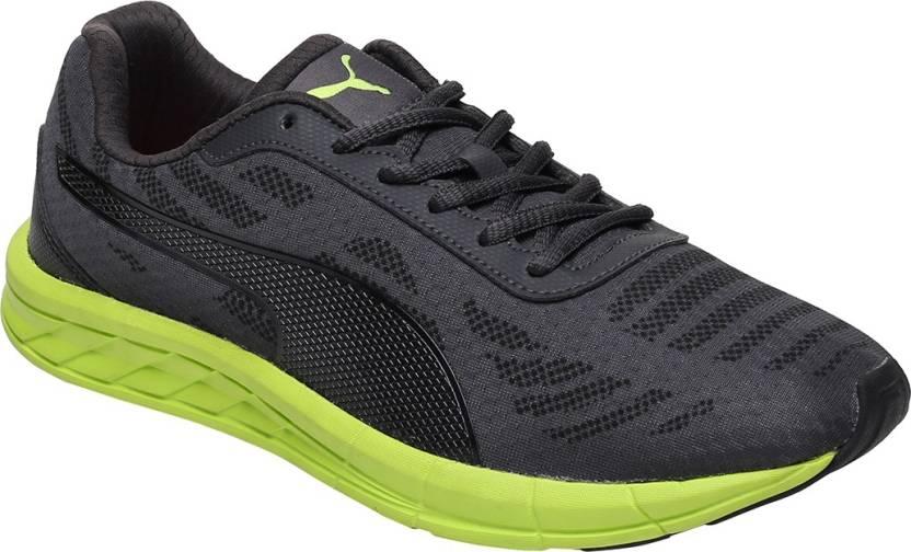 87b9fbad11e Puma Meteor IDP Running Shoes For Men - Buy Black Color Puma Meteor ...