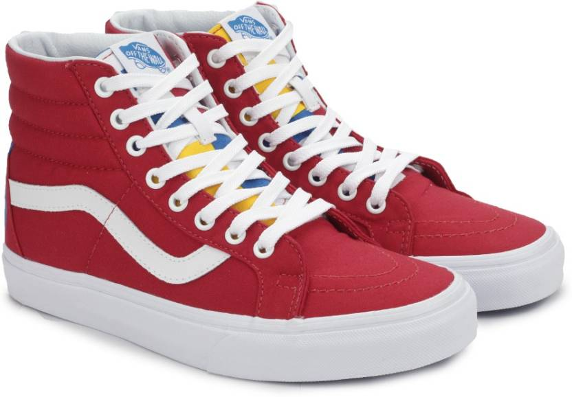 e48a117d0c2 Vans SK8-HI REISSUE High Ankle Sneakers For Men - Buy (1966) RED ...