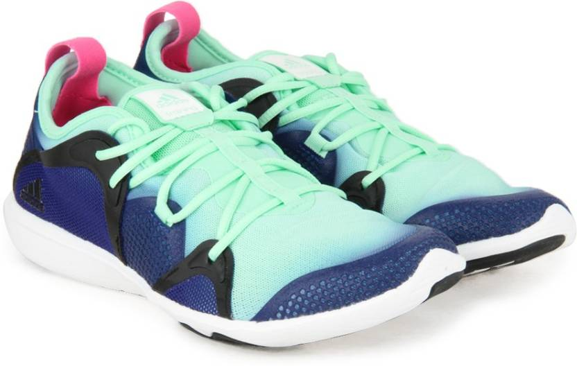 online store 31408 951e2 ADIDAS ADIPURE 360.4 W Training Shoes For Women (Blue)