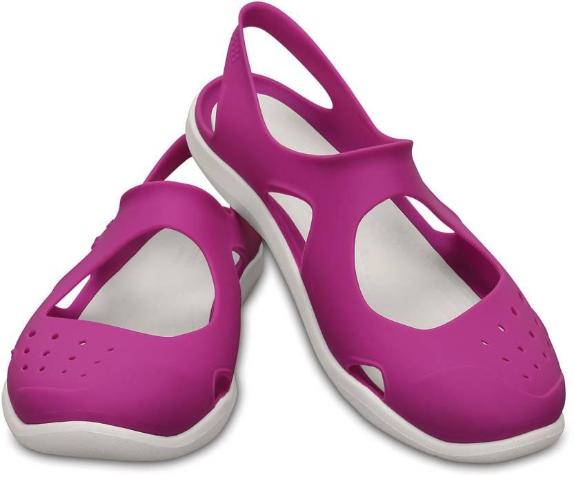 e76b71973be641 Crocs Swiftwater Wave Clogs For Women - Buy 203995-59L Color Crocs ...