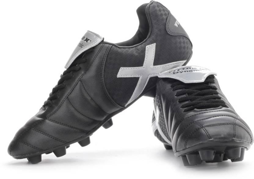 162d784208e Vector X Dynamic Football Shoes For Men - Buy Black