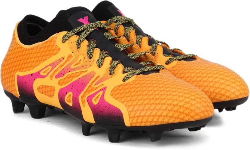 ADIDAS X 15 PRIMEKNIT FG/AG Football Shoes For Men