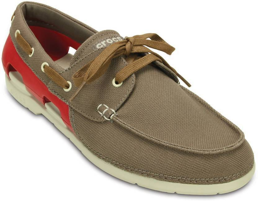 dd38011e38467e Crocs Boat Shoes For Men - Buy 200247-27Y Color Crocs Boat Shoes For ...