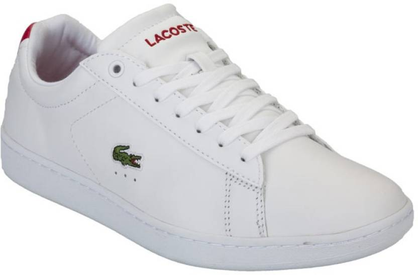 c0526c3a8a Lacoste Sneakers For Women - Buy White red Color Lacoste Sneakers ...