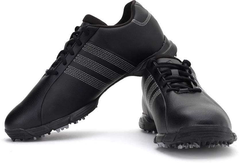 sports shoes 8d5ba 61fcf Adidas Golf Lite 3 Z WD Golf Shoes For Men (Black)