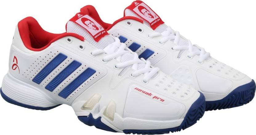 c2035d670acc ADIDAS NOVAK PRO Tennis Shoes For Men - Buy FTWWHT CROYAL SCARLE ...