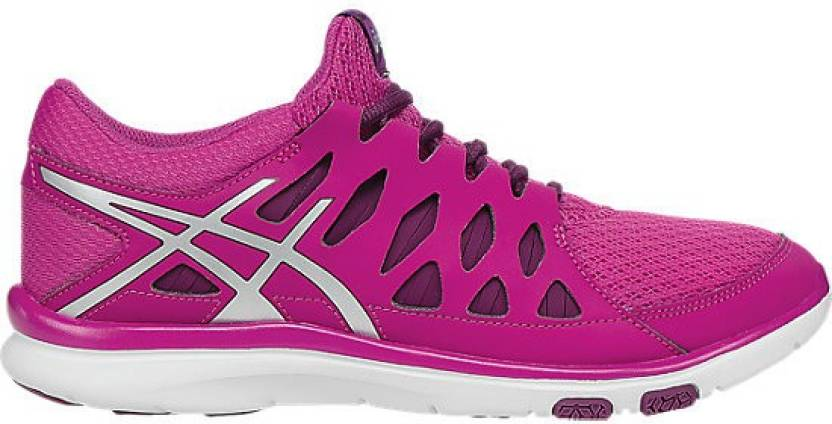 the latest dc330 716c0 Asics Gel-Fit Tempo 2 Women Training   Gym Shoes For Women (Purple, Silver)