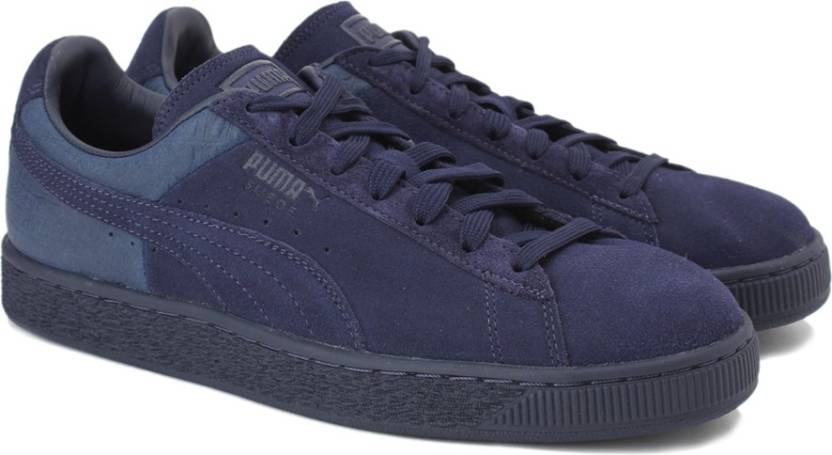 Puma Suede Classic Casual Emboss Sneakers For Men - Buy Peacoat ... ba3f9da767