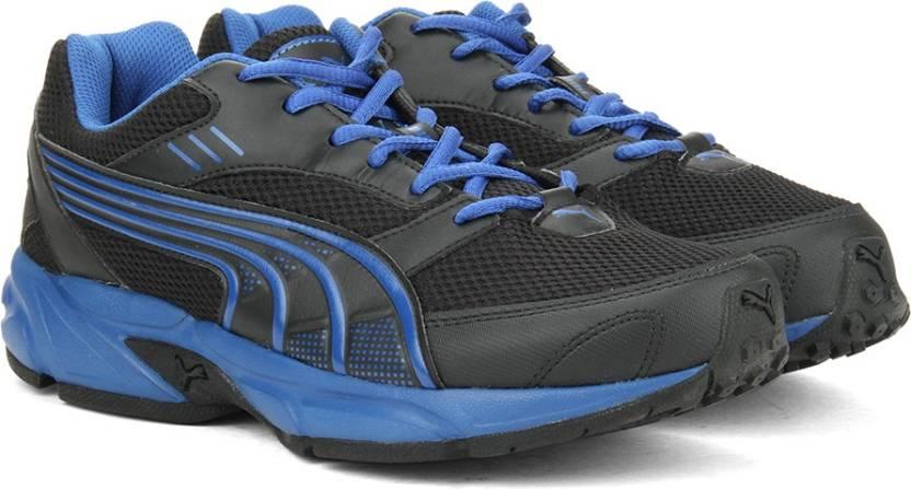 5b23bbab82753f Puma Pluto DP Running Shoes For Men - Buy Black