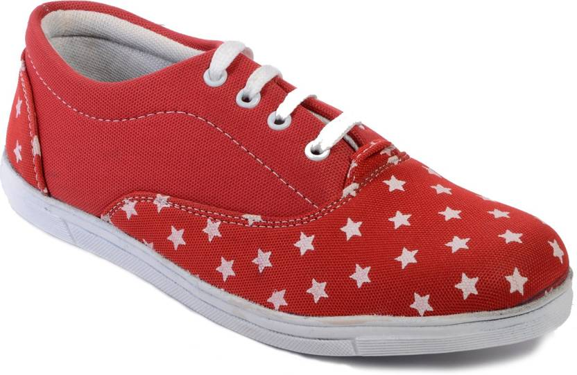 62e882b88f Sparkle Canvas Shoes For Men - Buy Red Color Sparkle Canvas Shoes ...