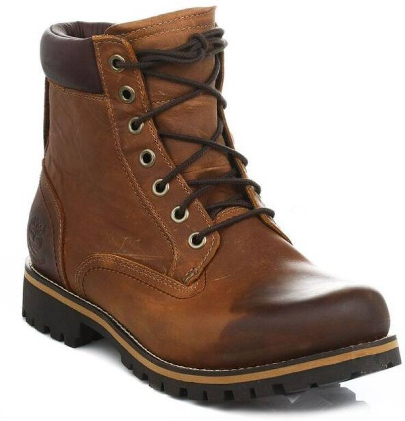 5fad03d0 Timberland Earthkeepers 6 Inch Mens Brown Rugged Leather Ankle Boots Boots  For Men (Brown)